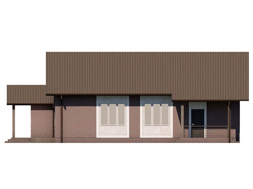 "Проект одноэтажного дома ""Виваче"" (90 кв.м.)"