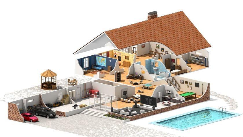 Планировка частного дома: что нужно знать