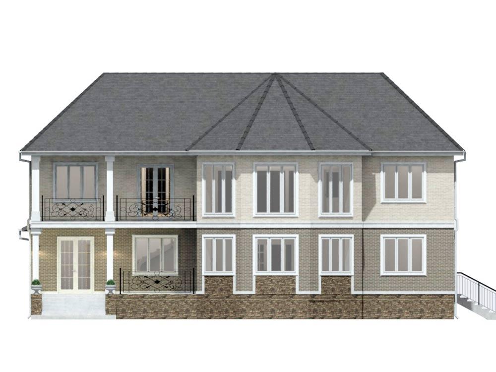 """Проект двухэтажного дома """"Симфония"""" (147 кв.м.)"""
