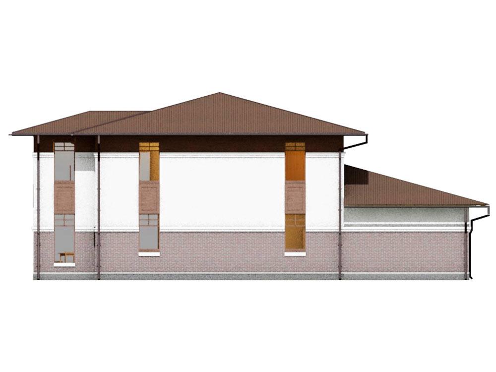 """Проект двухэтажного дома """"Райт"""" (202 кв.м.)"""