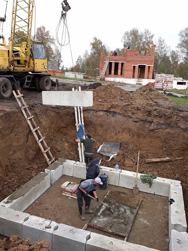 Строительство дома в Журавлевых Горах