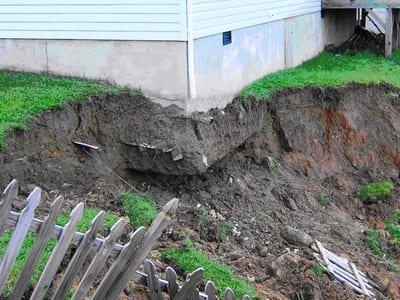 Когда из под ног уходит земля. Как не надо выбирать участок под строительство дома
